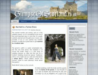glimpseofscotland.co.uk screenshot