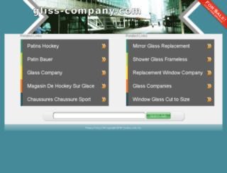 gliss-company.com screenshot