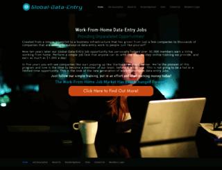 global-data-entry.com screenshot