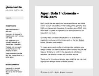 global-net.in screenshot