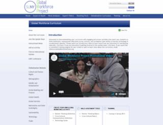 global-workforce.globalization101.org screenshot