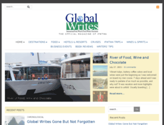 global-writes.com screenshot