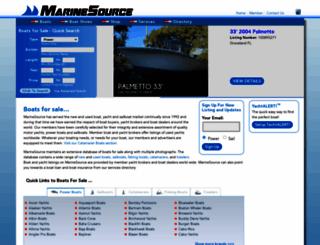 global.marinesource.com screenshot