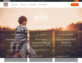 global.msh-intl.com screenshot