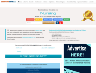 global.nursingconference.com screenshot