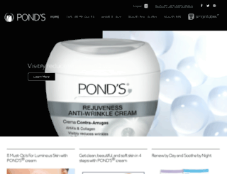global.ponds.com screenshot