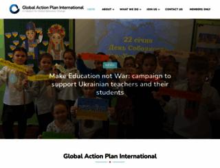 globalactionplan.com screenshot