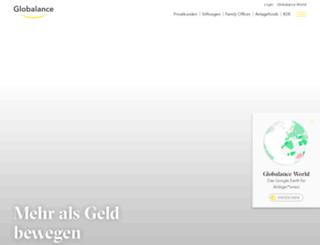 globalance-bank.com screenshot