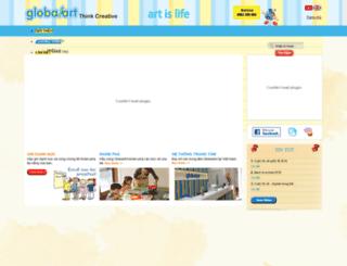 globalart.com.vn screenshot