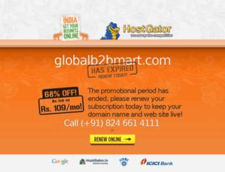 globalb2bmart.com screenshot