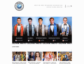 globalbeauties.com screenshot