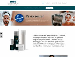 globalbeauty.net screenshot