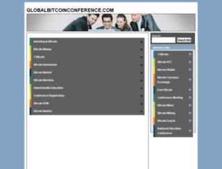 globalbitcoinconference.com screenshot