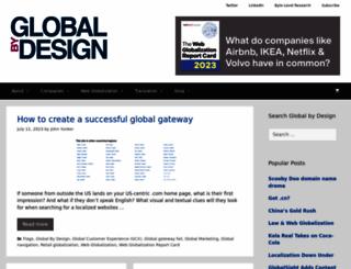 globalbydesign.com screenshot