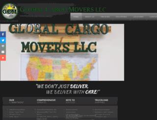 globalcargomoversllc.com screenshot