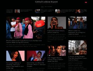 globalfashionreport.com screenshot