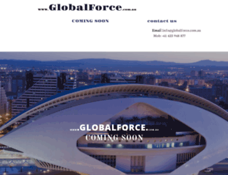 globalforce.com.au screenshot