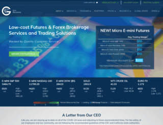 globalfutures.com screenshot
