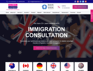 globalgateways.co.in screenshot