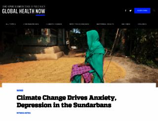 globalhealthnow.org screenshot
