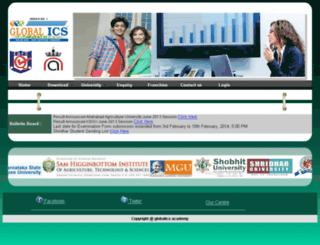 globalics.org screenshot
