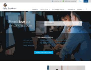 globalknowledge.com.sa screenshot