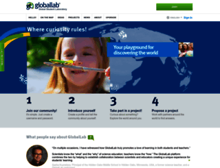 globallab.org screenshot