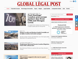 globallegalpost.com screenshot