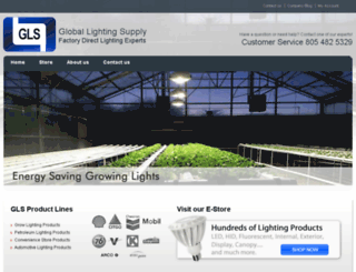 globallightingsupply.com screenshot