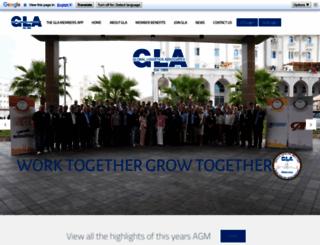 globallogisticsassociates.com screenshot