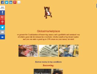 globalmarketplace.club screenshot