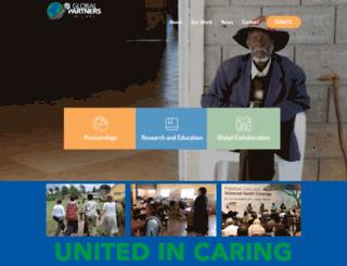 globalpartnersincare.org screenshot