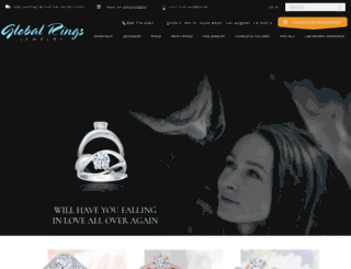globalringsjewelry.com screenshot