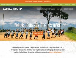 globalroutes.org screenshot