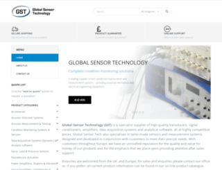 globalsensortech.com screenshot