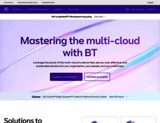 globalservices.bt.com screenshot