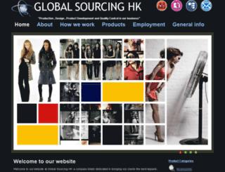 globalsourcinghk.com screenshot