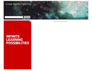 globalsportsfraternity.com screenshot