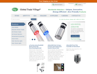 globaltradevillage.com screenshot