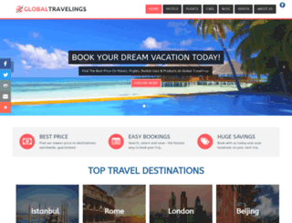 globaltravelings.com screenshot
