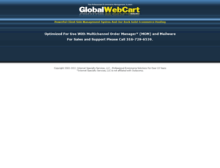 globalwebcart.com screenshot