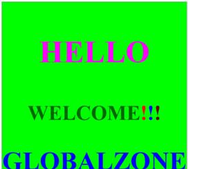 globalzone.in screenshot