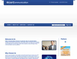 globe-communication.com screenshot
