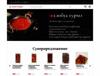 globusgurme.ru screenshot