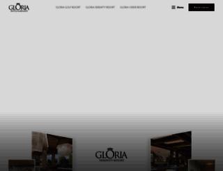 gloria.com.tr screenshot