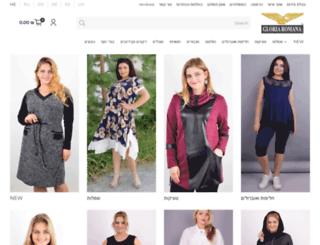gloriaromana.com screenshot
