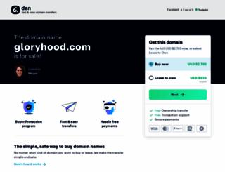 gloryhood.com screenshot