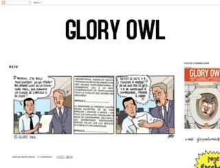 gloryowlcomix.blogspot.fr screenshot