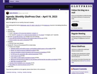 glotpress.org screenshot