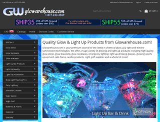 glowarehouse.com screenshot
